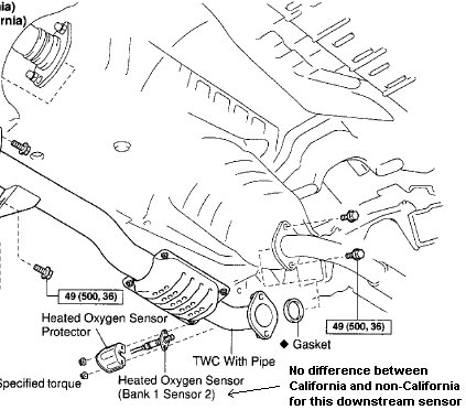 1999 Rav4 02 Sensor Location